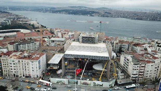 AKM inşaatının yüzde 80'i tamamlandı! Son durumu havadan görüntülendi