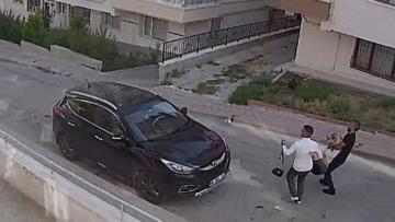 Ankara'da 2 sanığın eroin enjekte ettikleri kadını karga tulumba taşıdıkları anlar