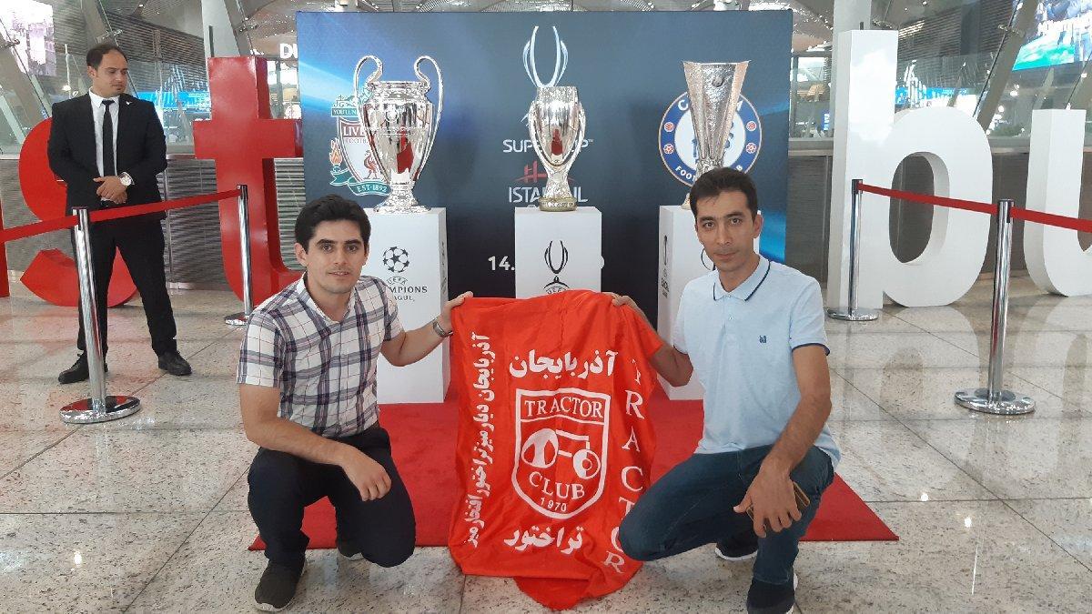 Avrupa'nın 3 büyük kupası İstanbul Havalimanı'nda ilgi odağı oldu