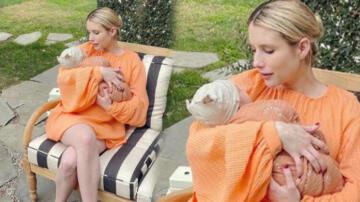 Emma Roberts'ın bebeğiyle ilk pozu!