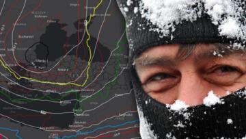 İstanbul'a kar yağacak mı? 'Son yıllarda gördüğüm en güzel tahmin haritası' deyip paylaştı…