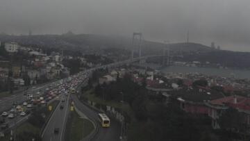 İstanbul'da kar yağışı başladı! İşte İstanbul'dan ilk kar manzaraları…