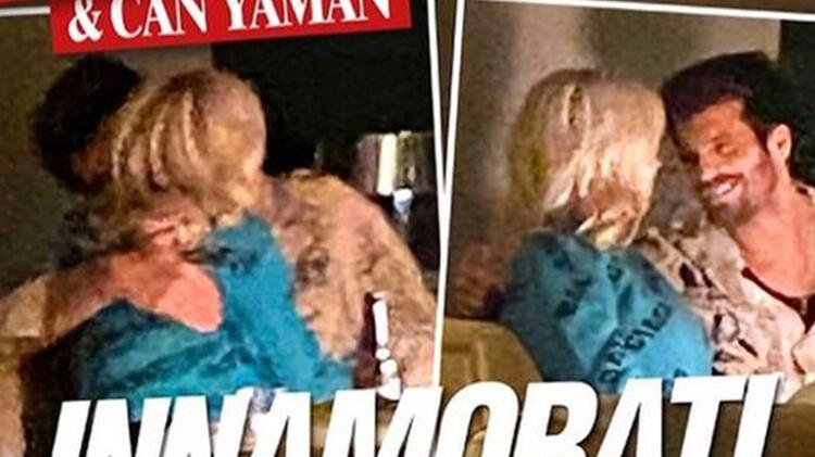 İtalyan spor spikeri Diletta Leotta, Can Yaman ile yakalandı