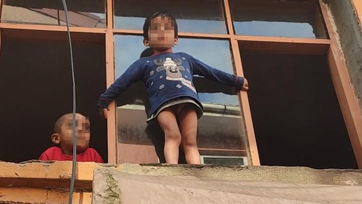 Kocaeli'de korku dolu anlar! Küçük çocuk yürekleri ağza getirdi