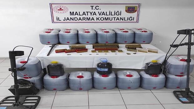 Malatya'da 481 litre kaçak içki ele geçirildi