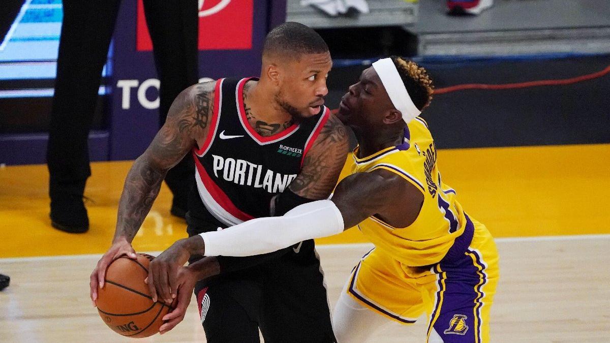Portland Trail Blazers, Los Angeles Lakers'ı Lillard ve Trent Jr. ile devirdi