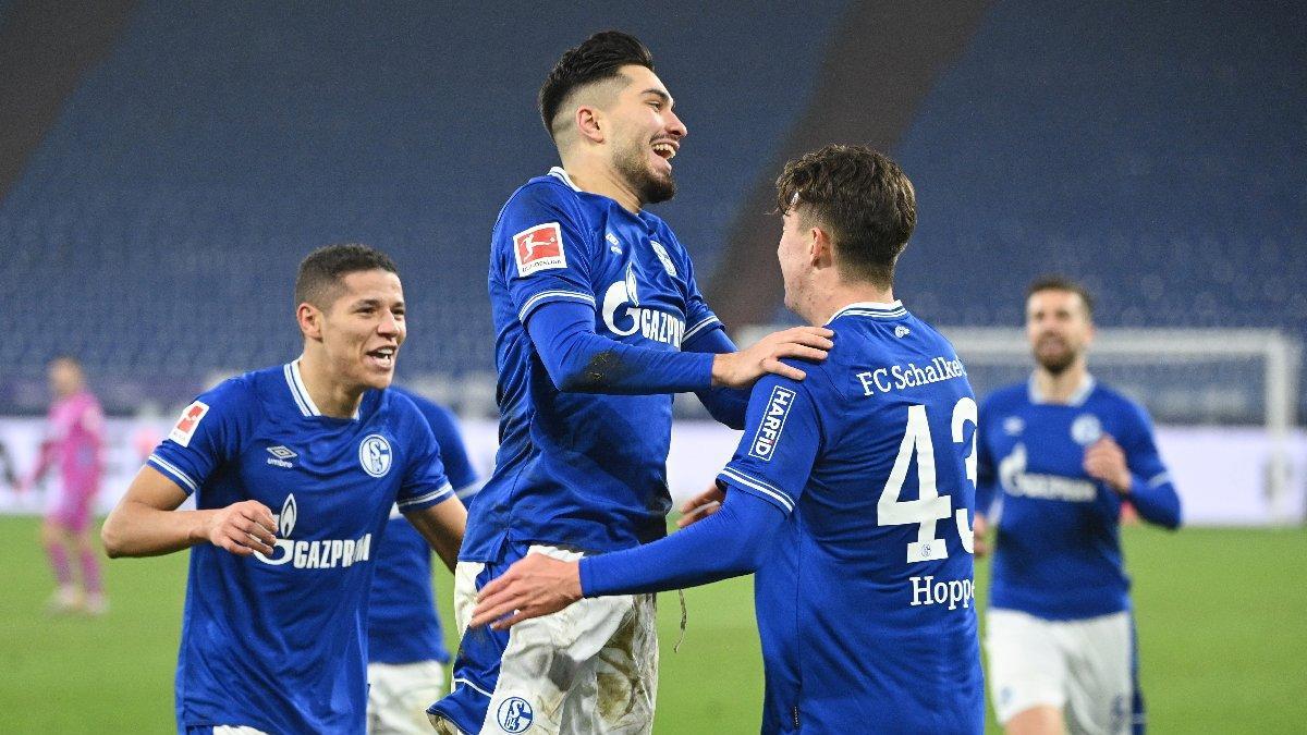 Schalke sonunda başardı! Tarihi rekora 1 maç kala…