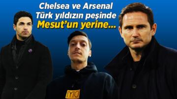 Son dakika transfer haberleri: Chelsea ve Arsenal, Türk yıldızın peşinde! Mesut Özil, Fenerbahçe'ye transfer olur olmaz…