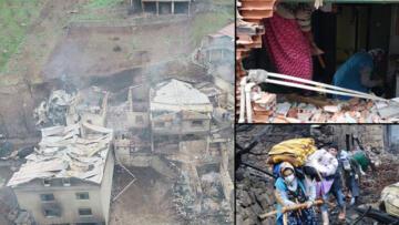 7 ev kül oldu, gözyaşlarıyla aradılar! 'Bir anda her yer cehenneme döndü'
