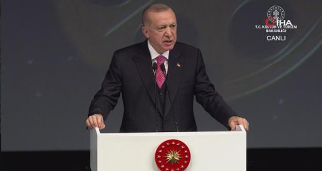 Cumhurbaşkanı Erdoğan: 'Nisan ayından itibaren Galataport'un faaliyete geçmesini bekliyoruz'