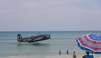 ABD'de uçak kazası medyana geldi