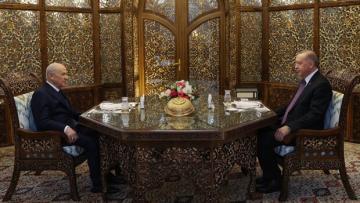 Son dakika haberi: Cumhurbaşkanı Erdoğan, MHP lideri Bahçeli ile iftarda bir araya geldi